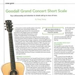 """Grand Concert Short Scale"" by Doug Young Acoustic Guitar Magazine May 2008"
