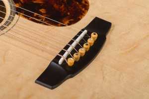 Traditional Series Bridge & Blacklip Mother of Pearl Inlaid Boxwood Pins