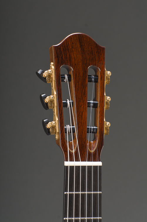 Classical Model - Peghead Front