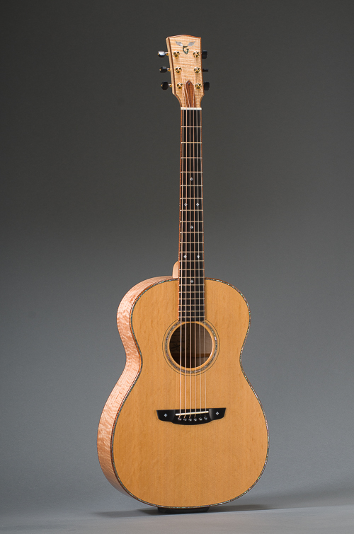 14-Fret Pacific Parlor - Full Front