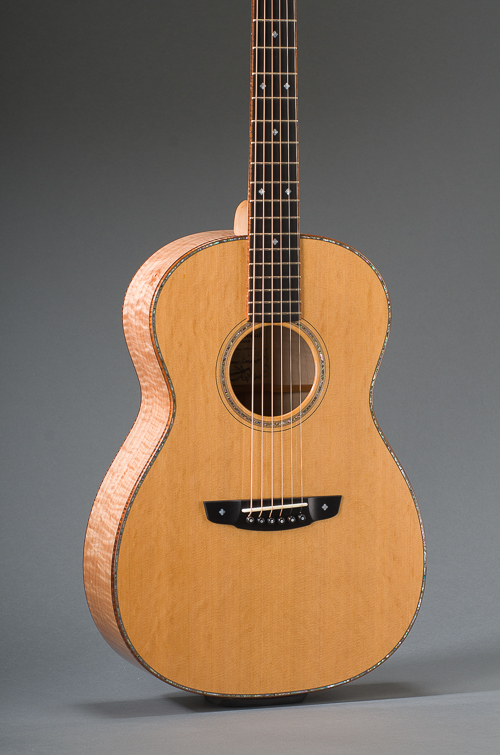14-Fret Pacific Parlor - Body Front
