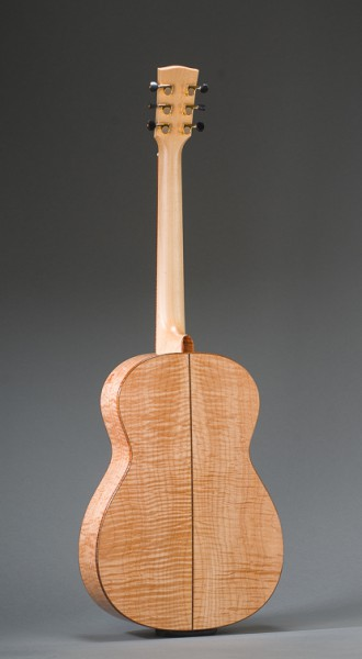 14-Fret Pacific Parlor - Full Back