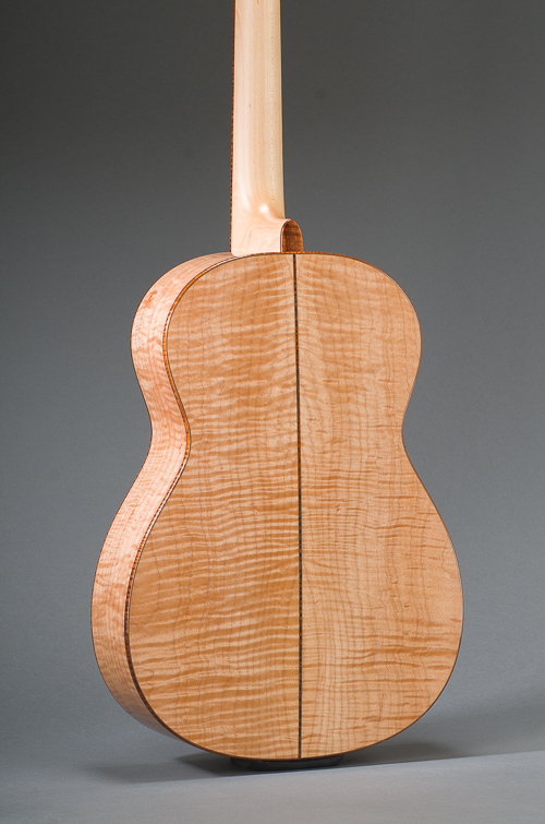 14-Fret Pacific Parlor - Body Back