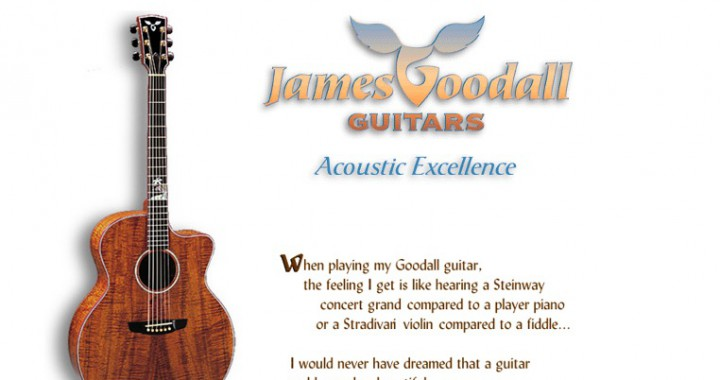 The Old Goodall Guitars Web Site
